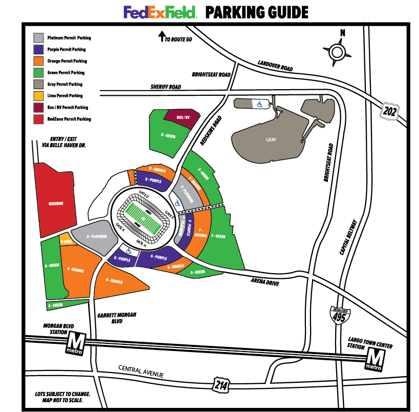 Fedex Field Parking Map Fedex Field Parking Tickets   Field Wallpaper HD 2018