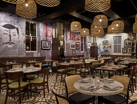 Bindaas DC restaurant interior