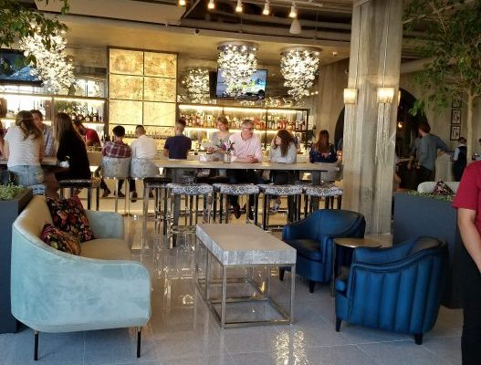 people dining at La Vie