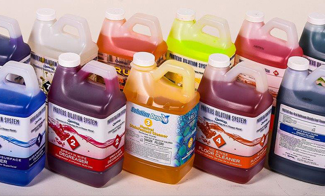 Warewashing & Laundry Services - Detergent Bottles